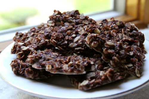 No Bake Chocolate Coconut Oatmeal Cookies Recipe