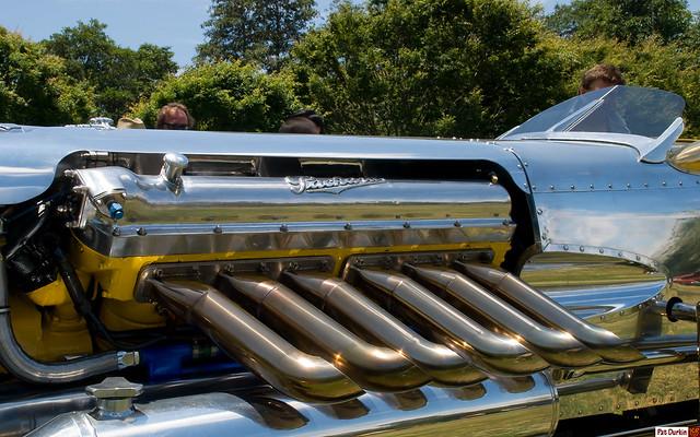 Rodney Rucker's 2,400 ci Packard V12 powered Blastolene Daytona ...