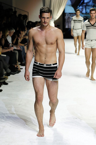 Dolce & Gabbana Man Fashion hot shirtless male model