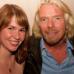 Virgin America in Toronto - Thompson Hotel - Megan Berry & Sir Richard Branson