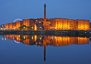 Pump House and Albert Dock, Liverpool.