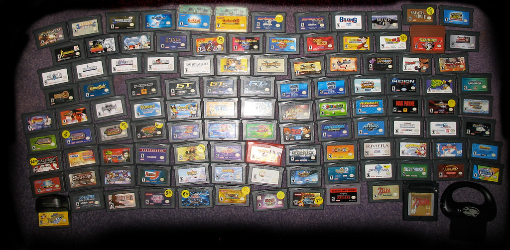 my gba games