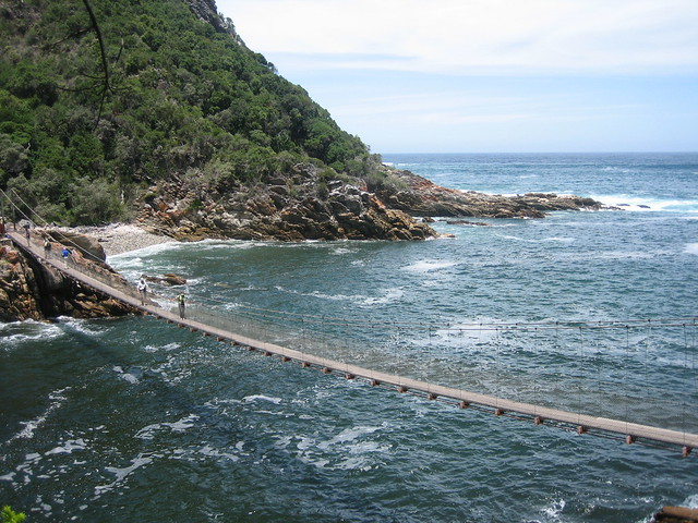 Suspension Bridge, Tsitsikamma National Park, Garden Route, South Africa