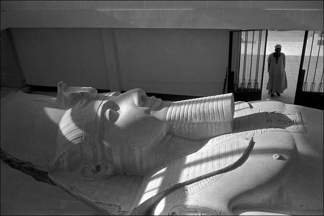 Ramesses II, by René Burri 1962