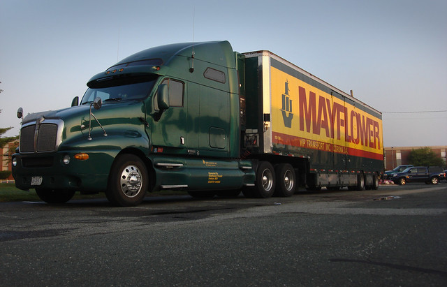 Mayflower moving truck.  Wakefield, MA (2010)