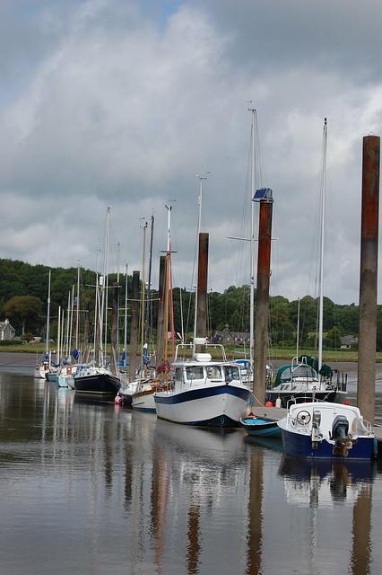 Sailing Boats In Kirkcudbright
