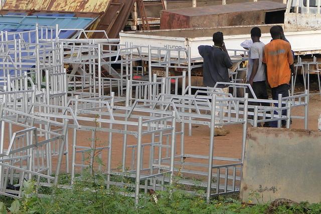 Young Men and Bedframes - Bolgatanga - Ghana