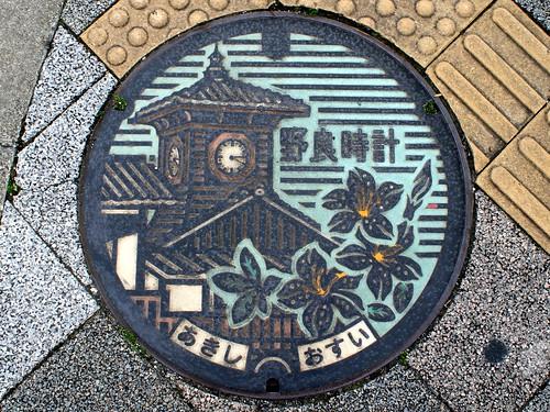 Aki,Kochi manhole cover(高知県安芸市のマンホール)