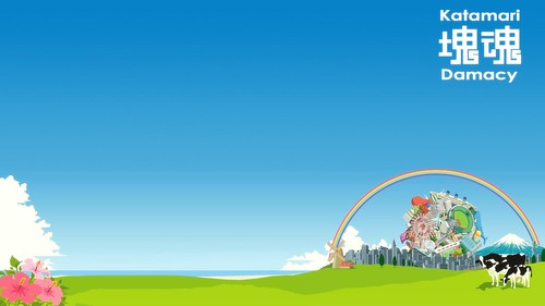 Katamari Damacy wallpaper - 1366 x 768
