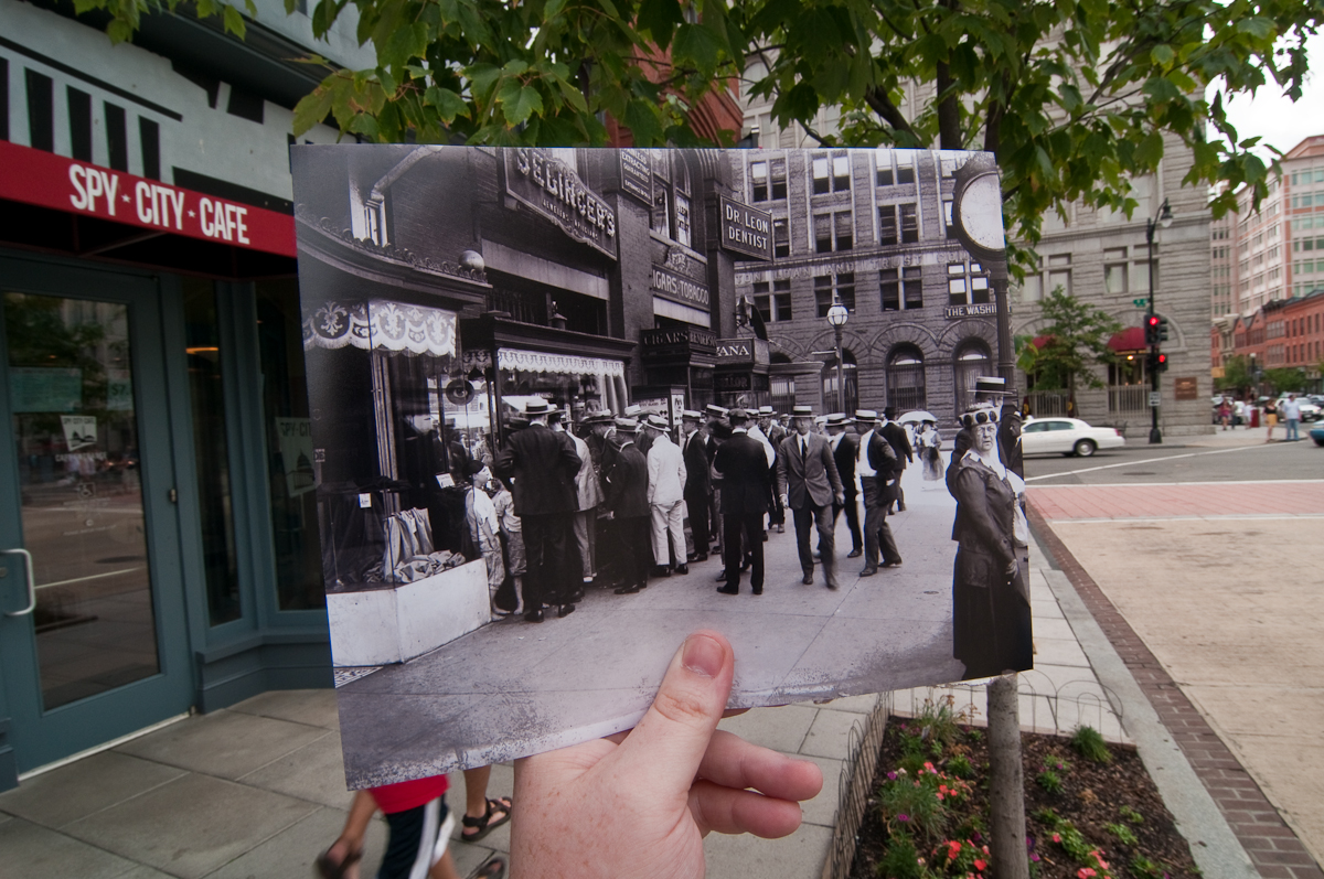 Looking Into the Past: F St. NW, Washington, DC