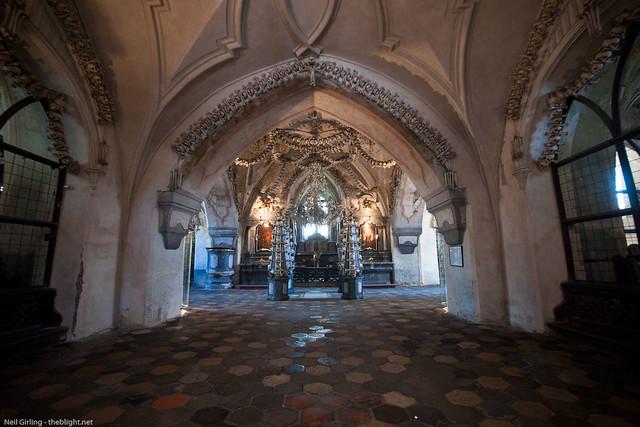 Sedlec Ossuary (Kostnice) in Kutná Hora