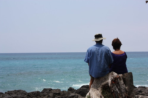 Couple @ Kealakekua Bay