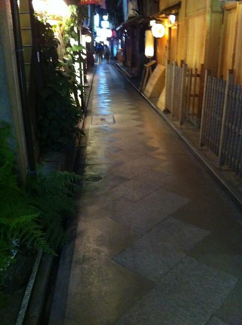 先斗町、京都