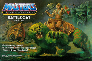 Battle Cat package art