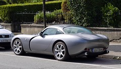 convertible(0.0), automobile(1.0), tvr(1.0), vehicle(1.0), automotive design(1.0), tvr tuscan speed 6(1.0), land vehicle(1.0), supercar(1.0), sports car(1.0),