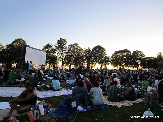 Free Movies in Stanley Park