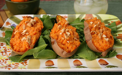 Twice-baked-yams-with-Cashews