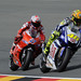 Valentino Rossi and Casey Stoner - Race @ Sachsenring by Fiat Yamaha Team