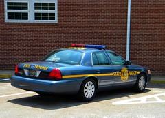 Delaware State Police Car