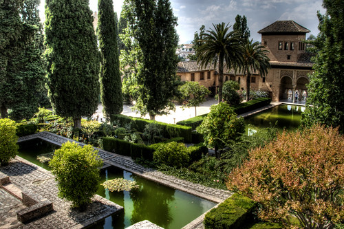 Flickriver j a alcaide 39 s photos tagged with jardines for Jardines alhambra