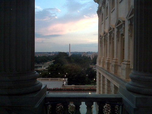 Capitol after the rain
