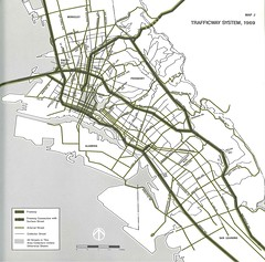 Oakland: Trafficway System, 1969