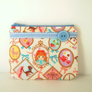Pretty Kawaii Girl Coin Purse/Card Case