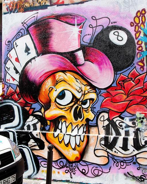 Graffitis sur les murs de paris flickr photo sharing for Immagini di murales e graffiti