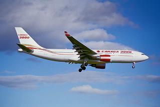 77aw - Canada 3000 Airbus A330-200; C-GGWA@ZRH;31.10.1999