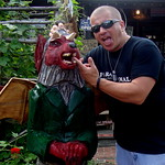 826 Paranormal with the wood carving of the Jersey Devil