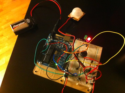 Arduino Motion Detector