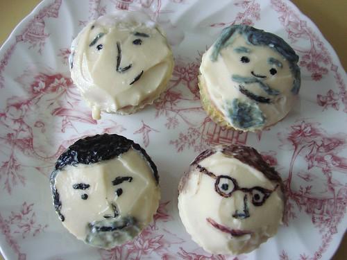 Sterling Cooper Draper Pryce Cupcakes