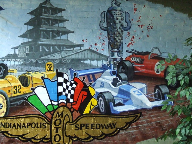 indy 500 mural flickr photo sharing