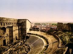 The Roman Theater, Orange, Provence, France, ca. 1898