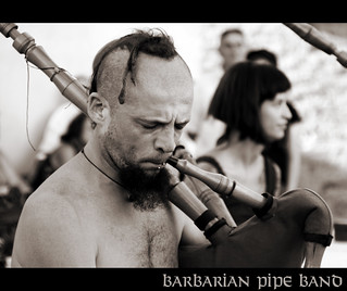 barbarian pipe band