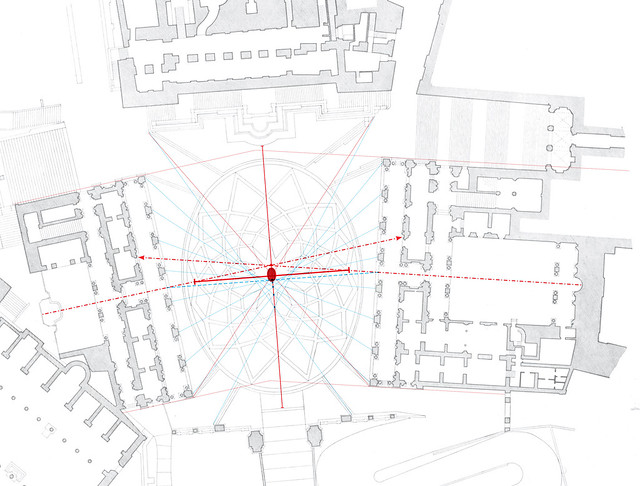 capitoline plan diagram  portoghesi  cr