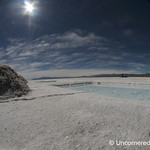 Blue Skies, White Salt - Salinas Grandes, Argentina
