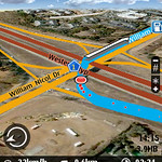 The new William Nicol Offramp in Terrain mode