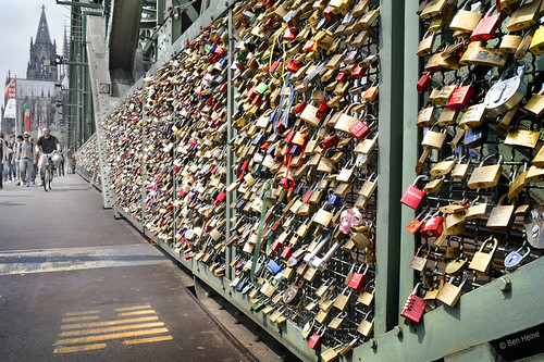 Love Padlocks - Cologne - 2