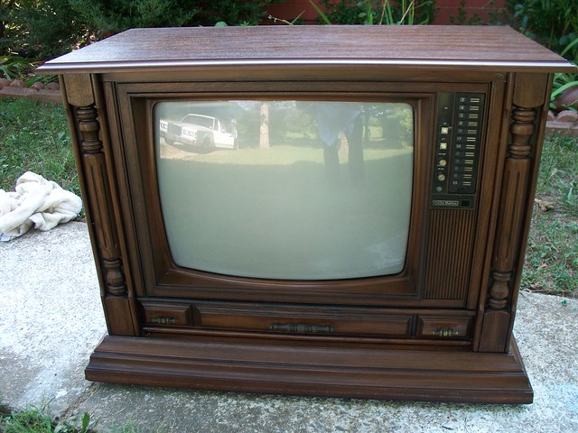 Curtis mathes console television model g r made october