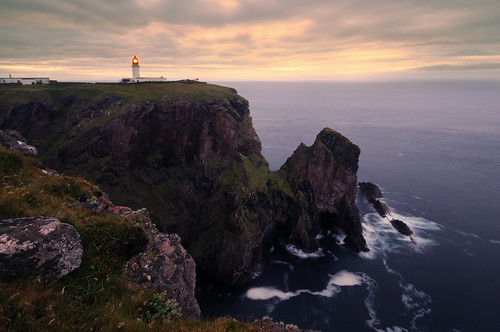 At Scotland's Edge - Cape Wrath lighthouse, Sutherland, Scotland by iancowe