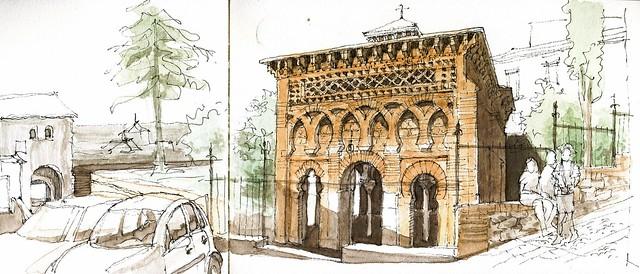 Toledo, Bab Mardum mosque
