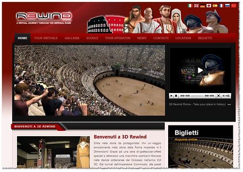 Roma, Colosseo - Benvenuti a 3D Rewind - Vivi un viaggio emozionante nella storia della Roma imperiale in 3 Dimensioni! Adulti: Euro 15,00 Bambini (5 - 12 anni): Euro 8,00 Via Capo d'Africa 5 00184.