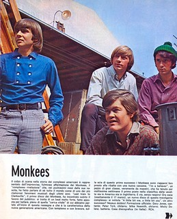 magazine - giovani - 1967 - the monkees