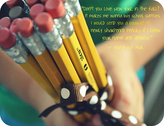 {pencil bouquet}