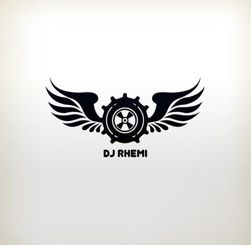 how to create a dj logo