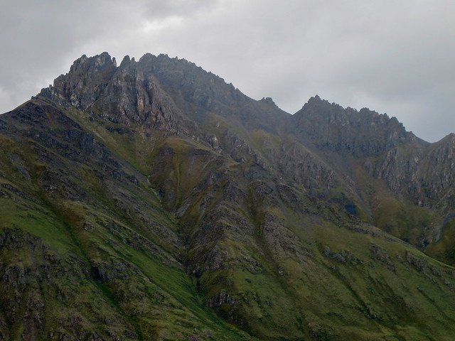 Jagged Peaks in the Brooks Range