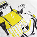 Moped Eric T-shirt by juliapott
