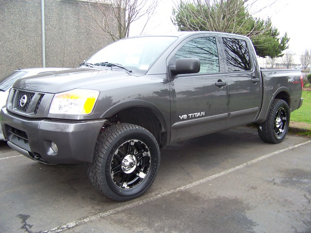 2009 Nissan Titan W 20 Xd Spy Explore Cascade Access Flickr Photo Sharing