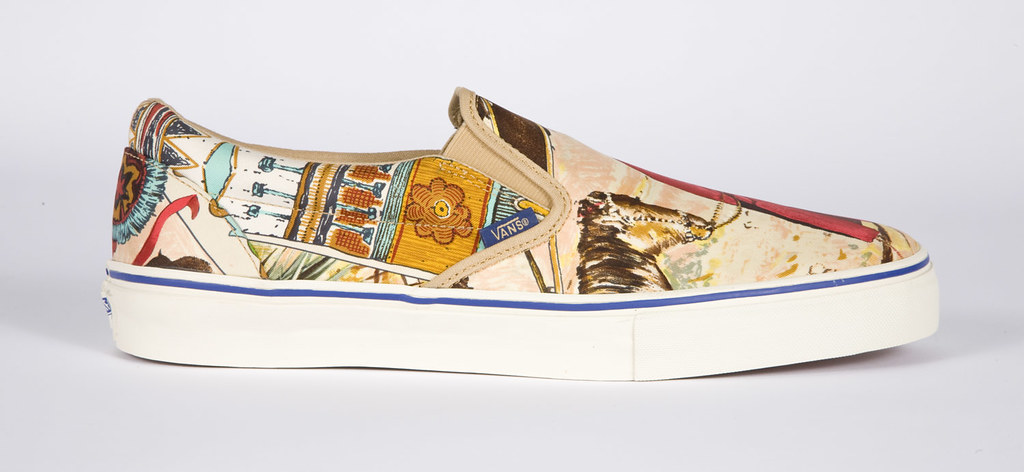 d5936826c3e ... Custom Vans - Vintage Hermes Scarves